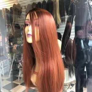 Accessories - Copper wig Long lacefront
